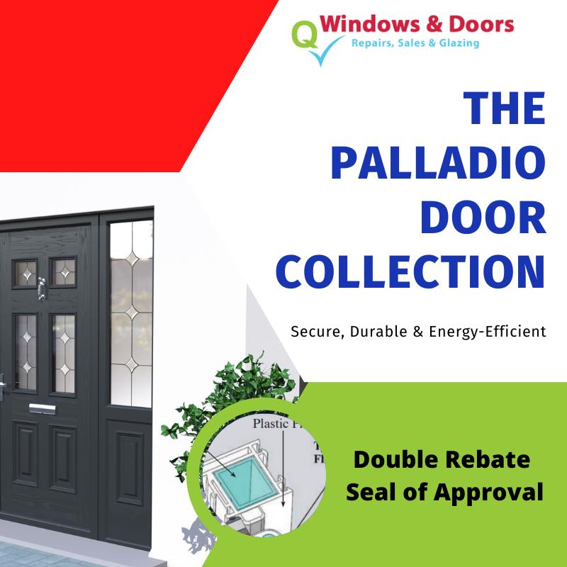 The Palladio Door Collection Double Rebate