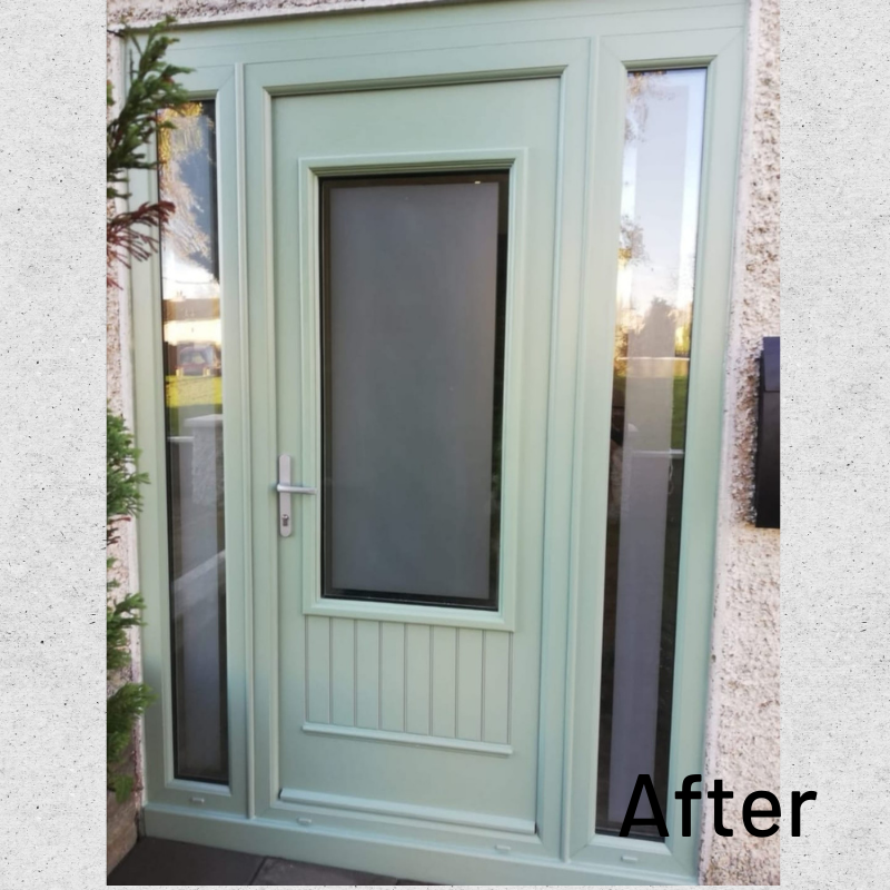 After Composite Door Cambridge Chartwell