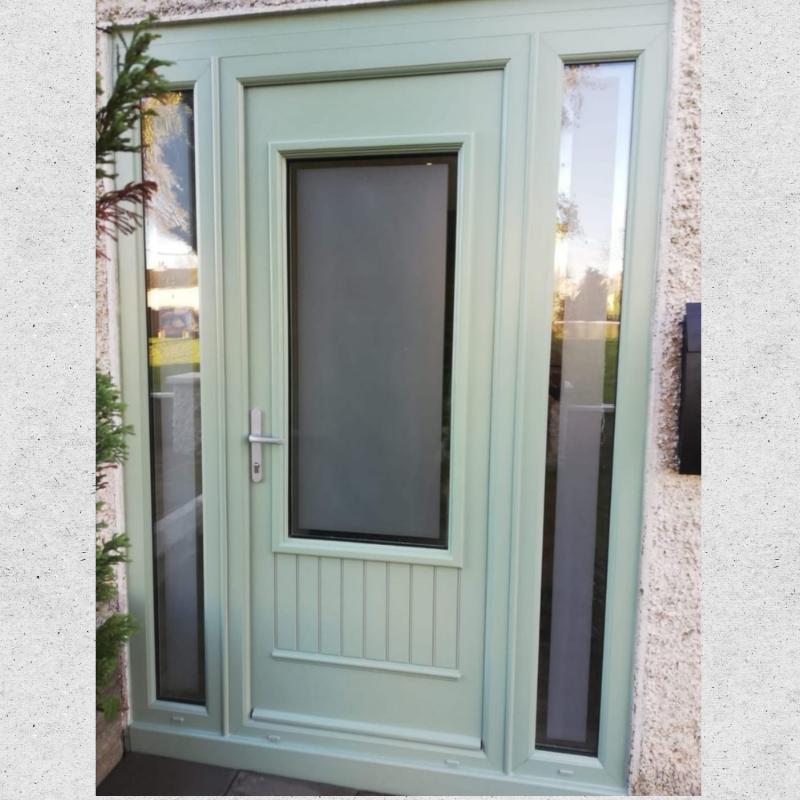 Palladio Composite Door Cambridge Chartwell Green